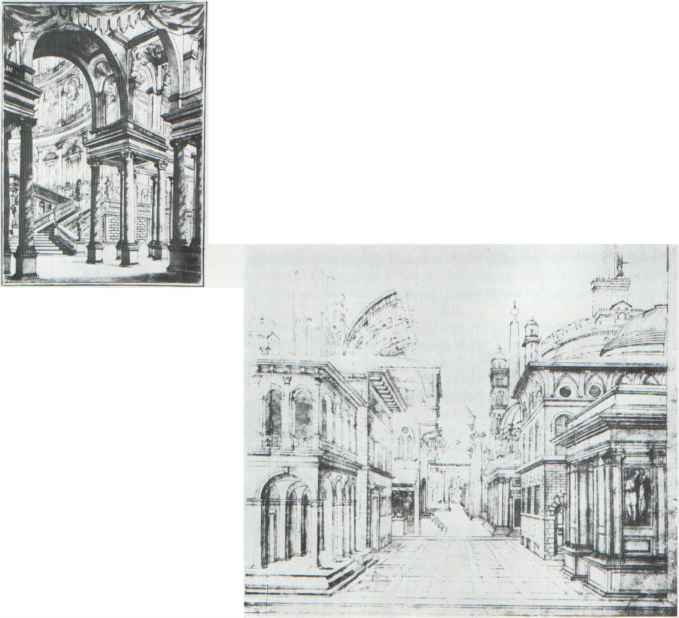 Pencil Study Buildings
