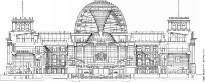 Dome Shaped Metal Structure Section