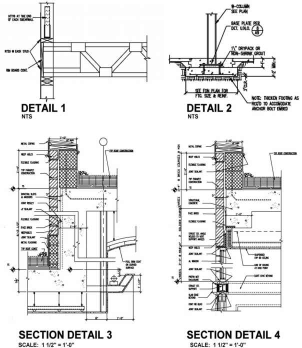 Mechanical Blueprints Examples