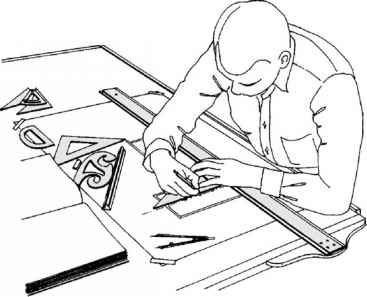Architectural Drawing Board technical drawing - building codes - northern architecture