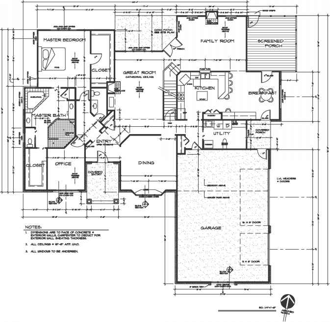 Drafting standards construction drawings northern architecture architectural drafting standards malvernweather Choice Image