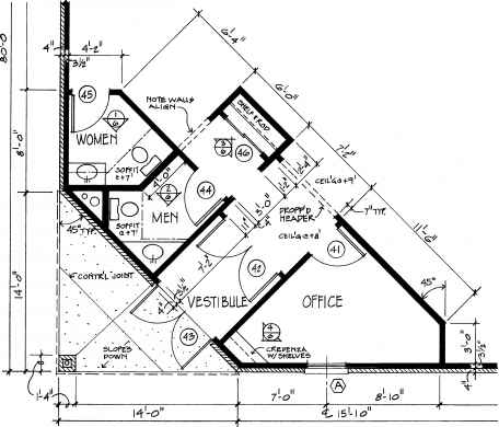 Drafting standards construction drawings northern architecture door numbers construction drawings malvernweather Choice Image