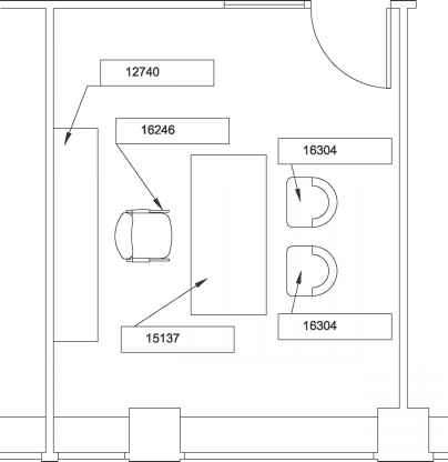Figure The Furniture For Floor Plan
