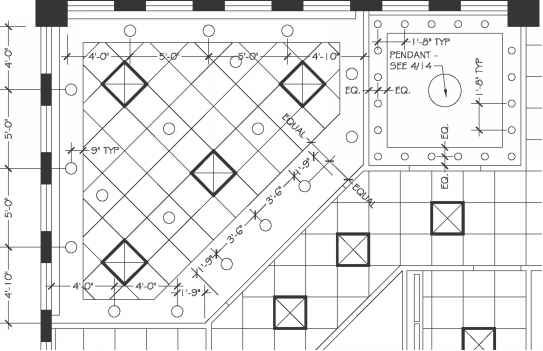 Residential reflected ceiling plan symbols for How to read construction blueprints