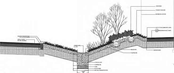 Pathway Stormwater Drainage Drawing