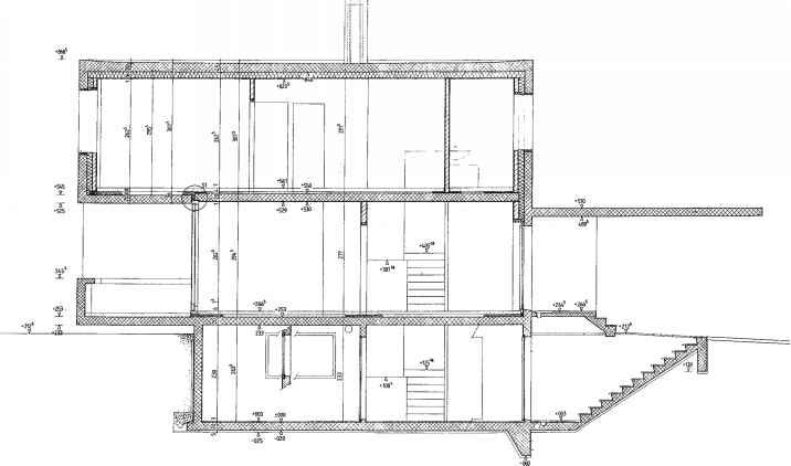 gliding windows floor plan peter markli frame construction northern architecture