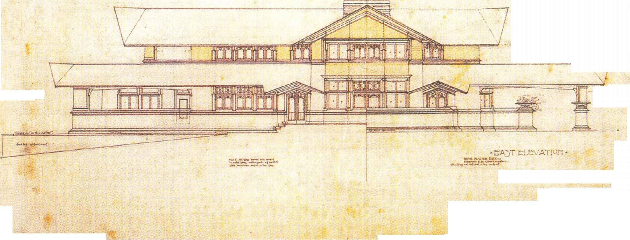 Frank Lloyd Wright Flooring : Frank lloyd wright northome floor plans