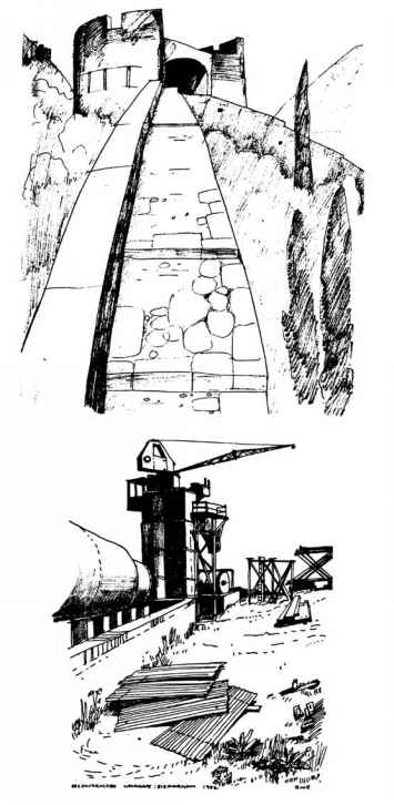 Lighthouse Drawing From Norfolk