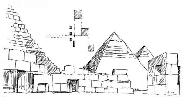 Architecture Drawing Guide history and archaeology - freehand drawing - northern architecture