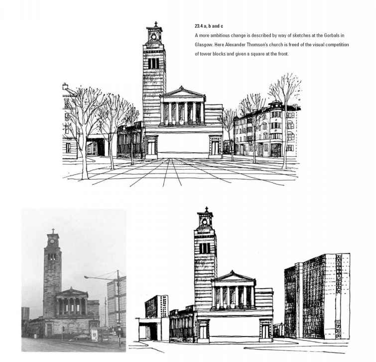 Architecture Freehand Drawing