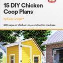 15 Diy Chicken Coop Plans By Easy Coops