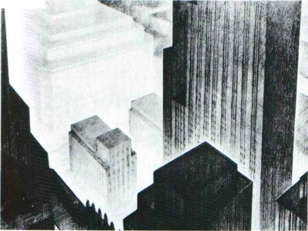Hugh Ferriss Architecture
