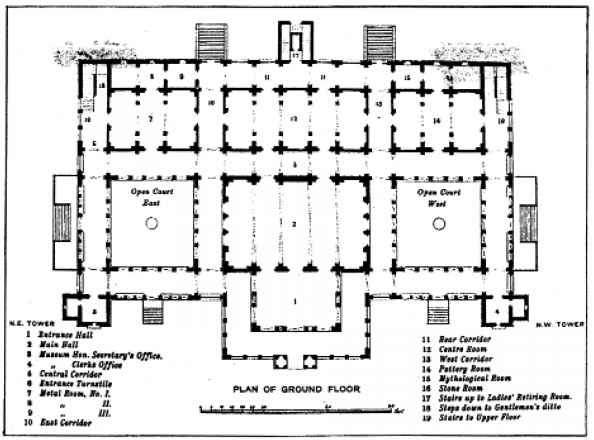 Plan Albert Hall With Dimensions