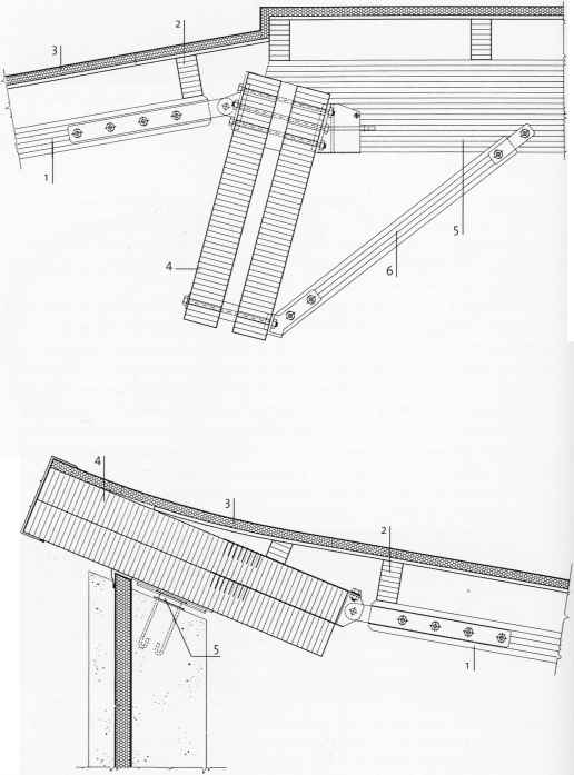 Glulam Roofing Drawing