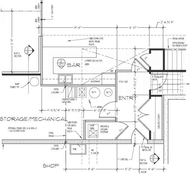 Entertainment Construction Drawings