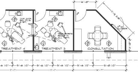 Dimensioning Interior Walls