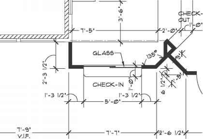 Dimensioning Plan Drawing
