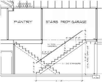 Staircase Plan View