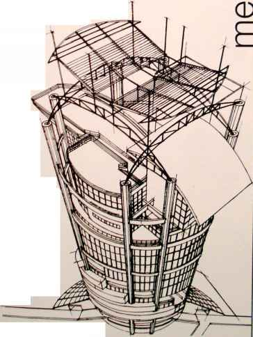 Mesiniaga Tower Sketch