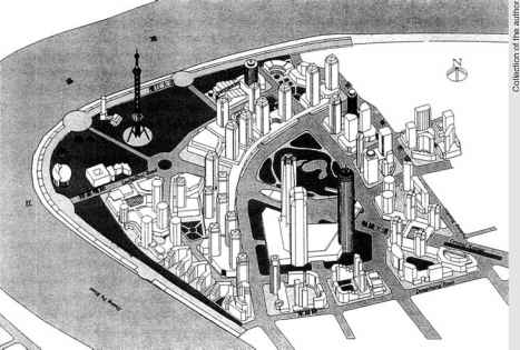 Shanghai Tower Masterplan