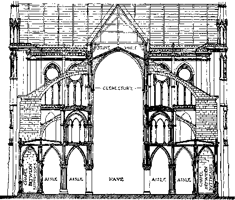 Cross Section Notre Dame