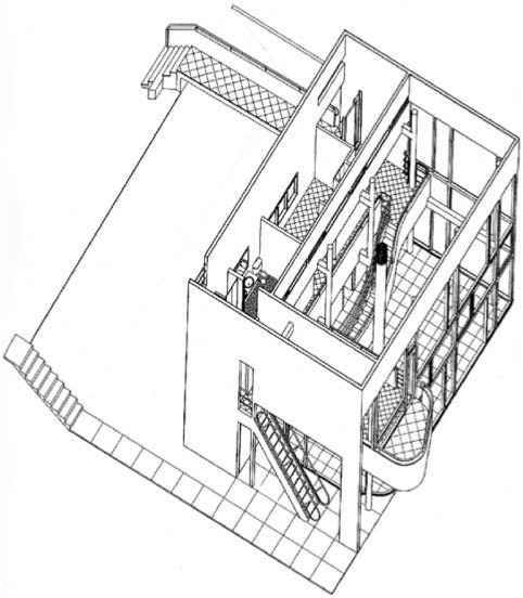 Front Elevation Oblique Drawing : Technical drawing and drafting techniques interior design