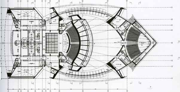 Tenerife Auditorium Floor Plan