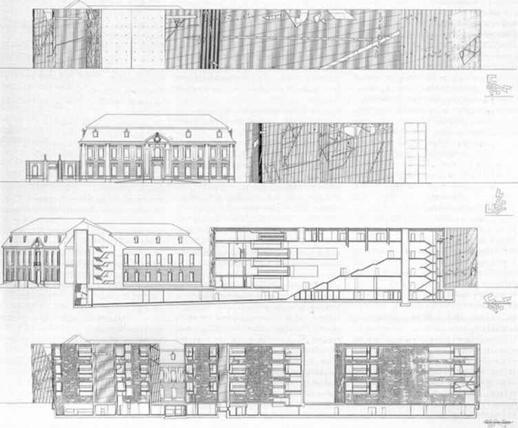 Jewish Museum Berlin Plan And Dimension