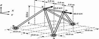 Space Truss Analysis