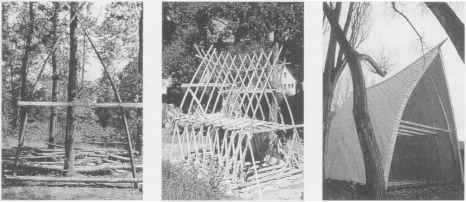 Experimental Timber Frame Construction